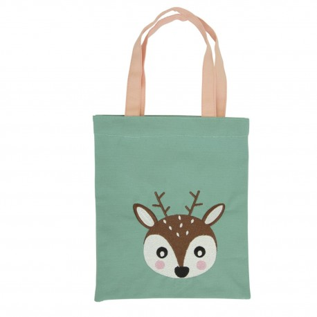 Stofftasche Reh Woodland Animals von Global Affairs