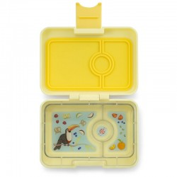 Yumbox Znünibox Mini mit 3 Fächern - Sunburst Yellow