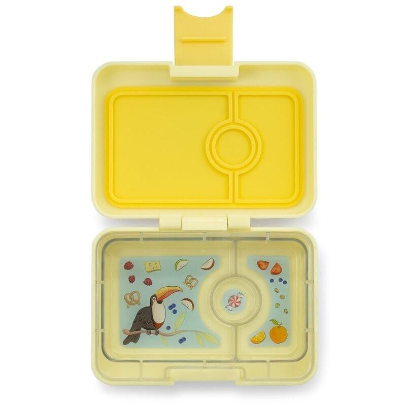 Yumbox Znünibox Mini mit 3 Fächern - Sunburst Yellow