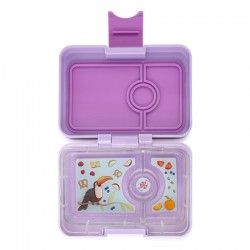 Yumbox Znünibox Mini mit 3 Fächern - Lila Purple