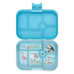 Yumbox Original Znünibox mit 6 Fächern - Nevis Blue