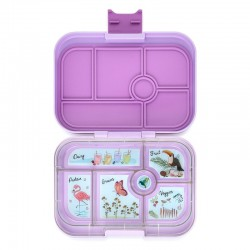 Yumbox Original Znünibox mit 6 Fächern - Lila Purple