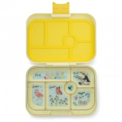 Yumbox Original Znünibox mit 6 Fächern - Sunburst Yellow