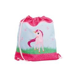 FUNKI Turnbeutel Pink Unicorn Einhorn