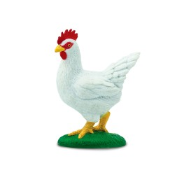 Huhn - Handbemalte Bauernhof Spielfigur