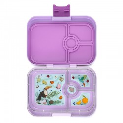 Yumbox Panino Znünibox mit 4 Fächern - Lila Purple