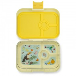 Yumbox Panino Znünibox mit 4 Fächern - Sunburst Yellow