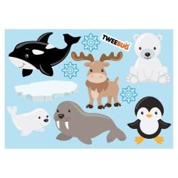 Wasserfeste Sticker Arktis von Tweebug