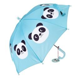 Kinder Regenschirm Miko the Panda in blau