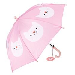 Kinder Regenschirm Cookie the Cat in pink