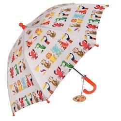 Kinder Regenschirm Colourful Creatures in bunt