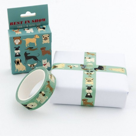 Washi Tape Best in Show Hunde von Rex London