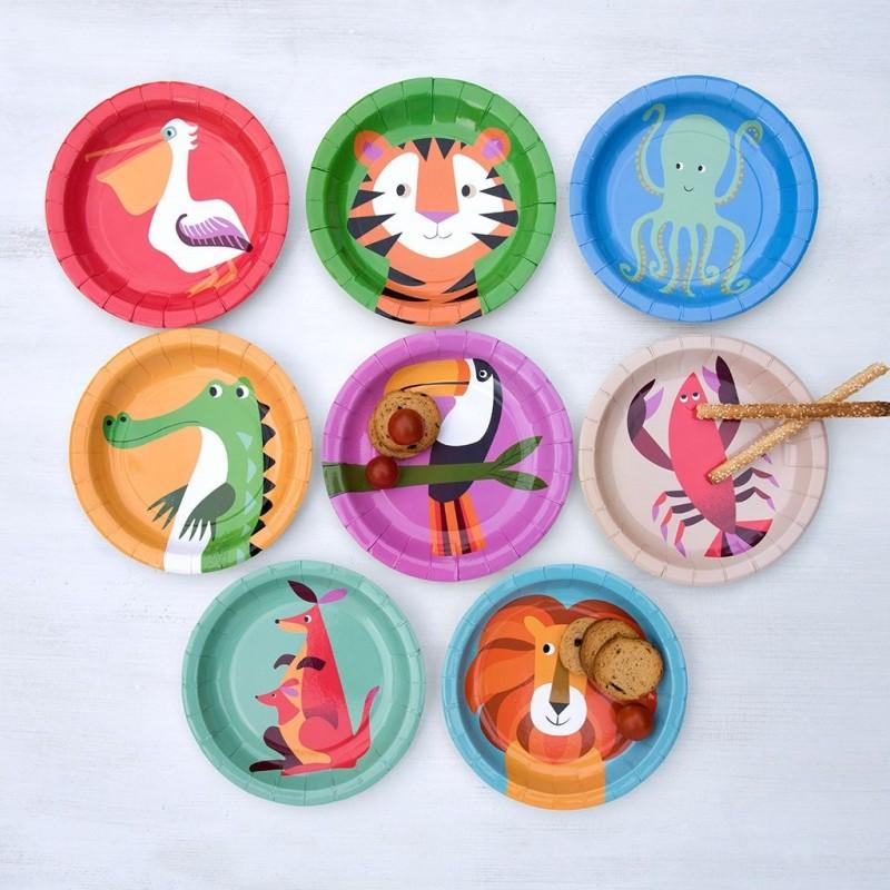 Kinderparty Set Colourful Creatures von Rex London