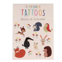 Tattoos Fuchs Rusty und seine Freunde von Rex London