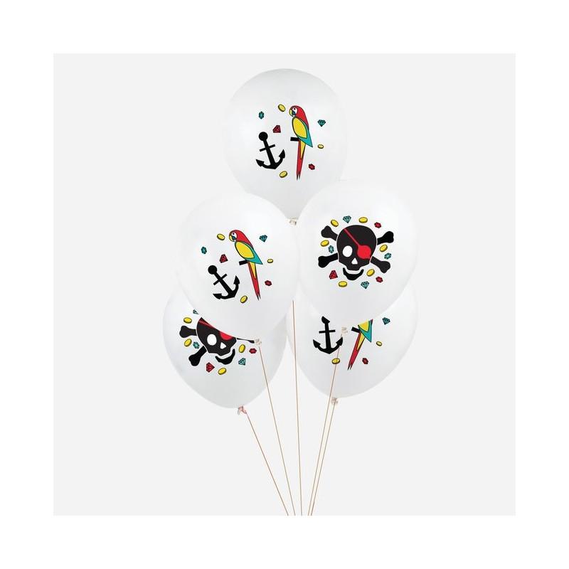 My Little Day - 5 Ballons Piraten