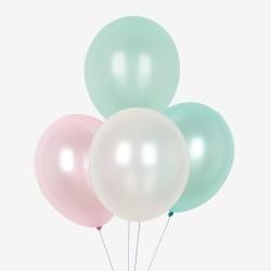 My Little Day Luftballons in Meerjungfrauen Farben