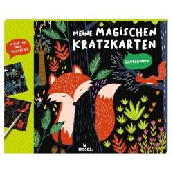Meine magischen Kratzkarten Zauberwald
