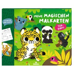 Meine magischen Malkarten Tierbabys
