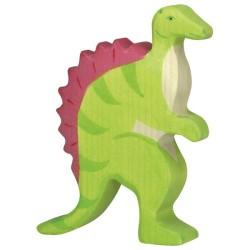 Holztiger Holzfigur Dinosaurier Spinosaurus