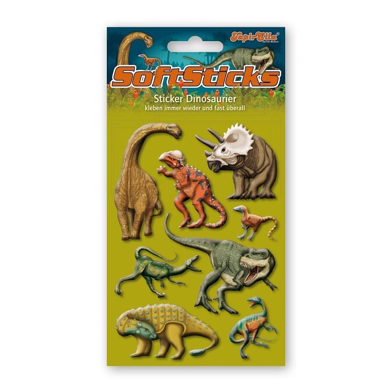 Softsticker Dinosaurier von Lutz Mauder