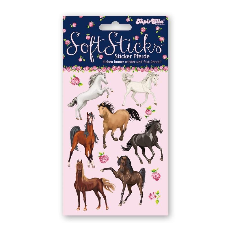 Softsticker Pferde von Lutz Mauder