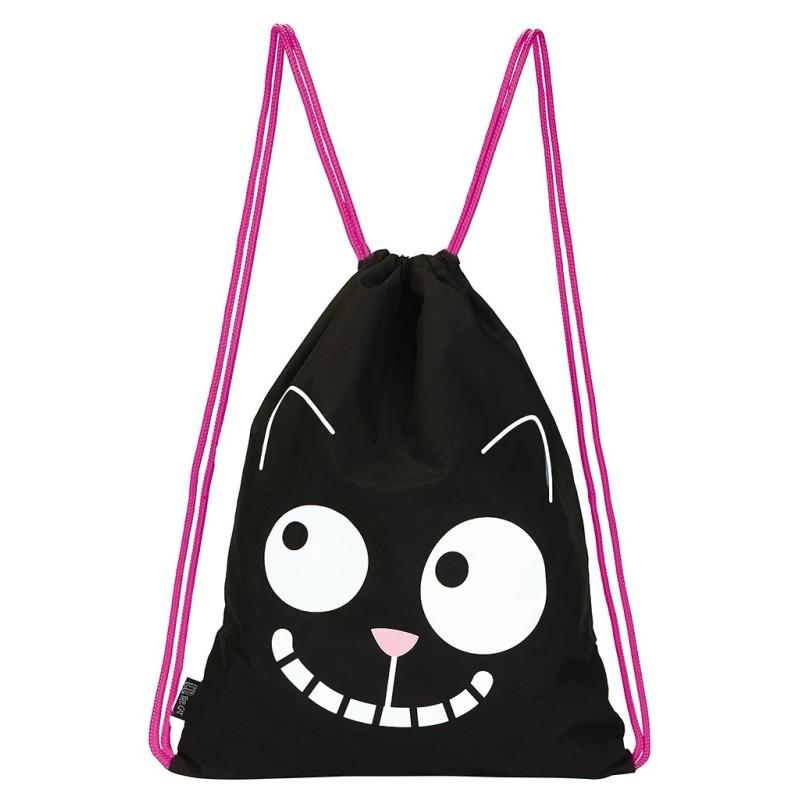 Turnbeutel Ed the Cat Smile vom moses. Verlag