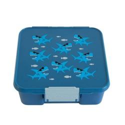 Little Lunch Box Co Znünibox Bento Five - Haie