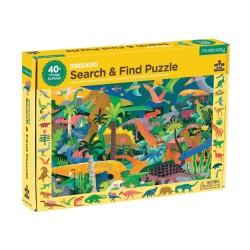 Suche & Finde Puzzle Dinosaurier mit 64 Teilen