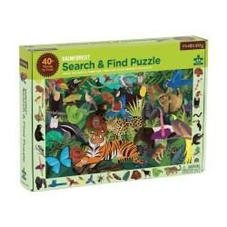 Suche & Finde Puzzle Regenwald mit 64 Teilen