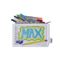 the doodle Stiftemäppchen, inkl. auswaschbare Stifte