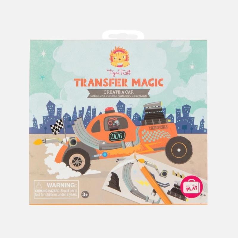 Transfer Magic Gestalte ein Auto von Tiger Tribe
