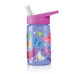 Trinkflasche Eco Kids Butterfly Dreams - Schmetterlinge aus Tritan von Crocodile Creek