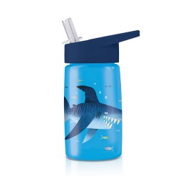 Trinkflasche Eco Kids Shark - Hai aus Tritan von Crocodile Creek