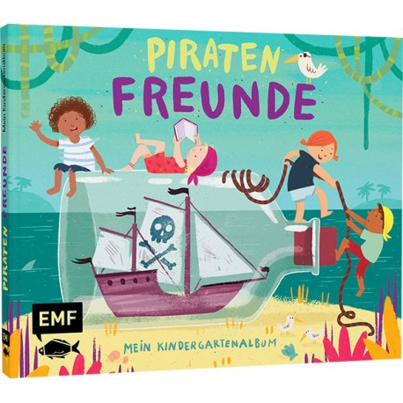 Piratenfreunde - Mein Kindergartenalbum Freundebuch