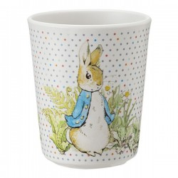 Melamin Trinkbecher Peter Rabbit - Peter Hase taupe
