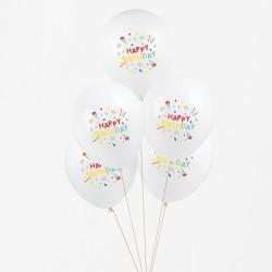 My Little Day - 5 Ballons Happy Birthday