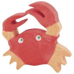 Holztiger Holzfigur Krabbe