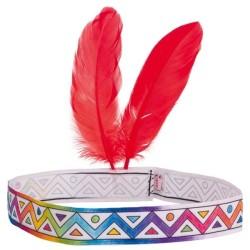 Indianer Stirnband zum Anmalen