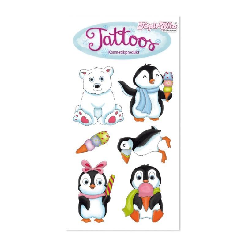 Tattoos Pinguin, Eisbär & Papageitaucher von Lutz Mauder