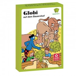 Globi auf dem Bauernhof Kartenspiel Quartett