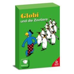 Globi und die Zootiere Kartenspiel Quartett