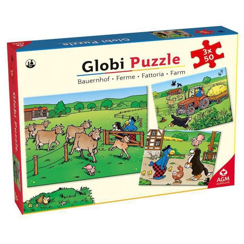 Globi Puzzle Bauernhof