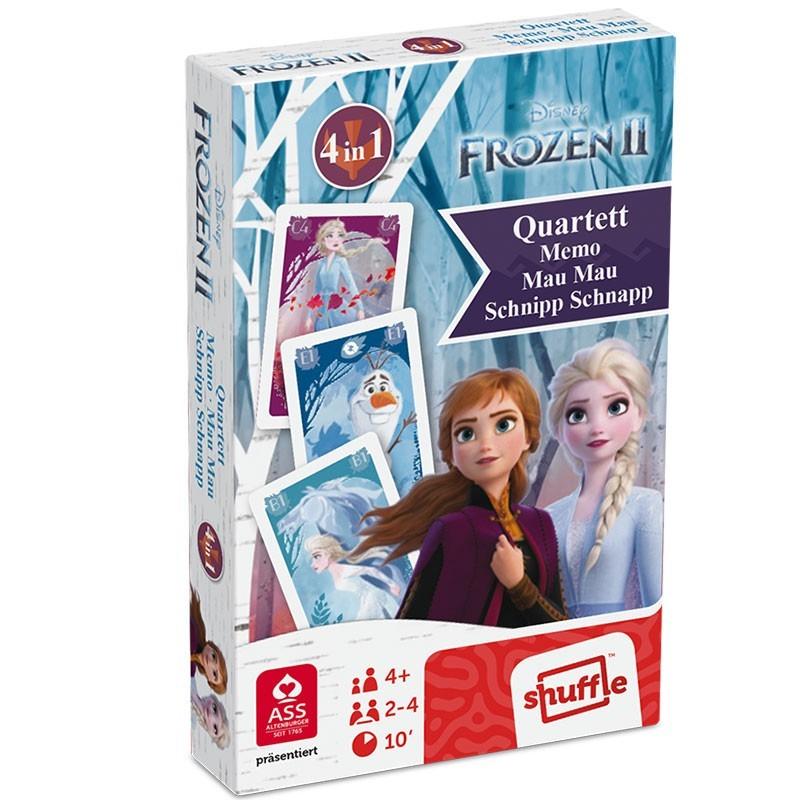 Frozen Die Eiskönigin 2 Kartenset - 4 in 1