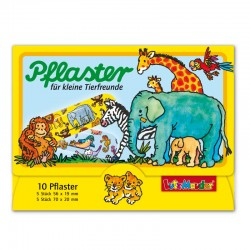 Pflasterbriefchen für kleine Tierfreunde von Lutz Mauder