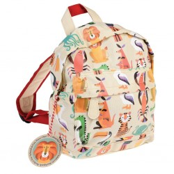 Kleiner Kinderrucksack Colourful Creatures von Rex London