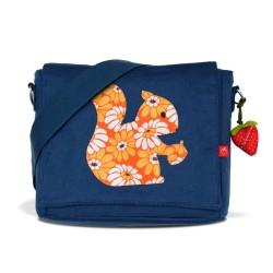 Kindergartentasche Eichhörnchen retro von la fraise rouge
