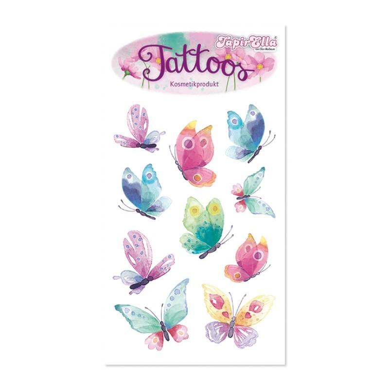 Tattoos Schmetterlinge TapirElla von Lutz Mauder