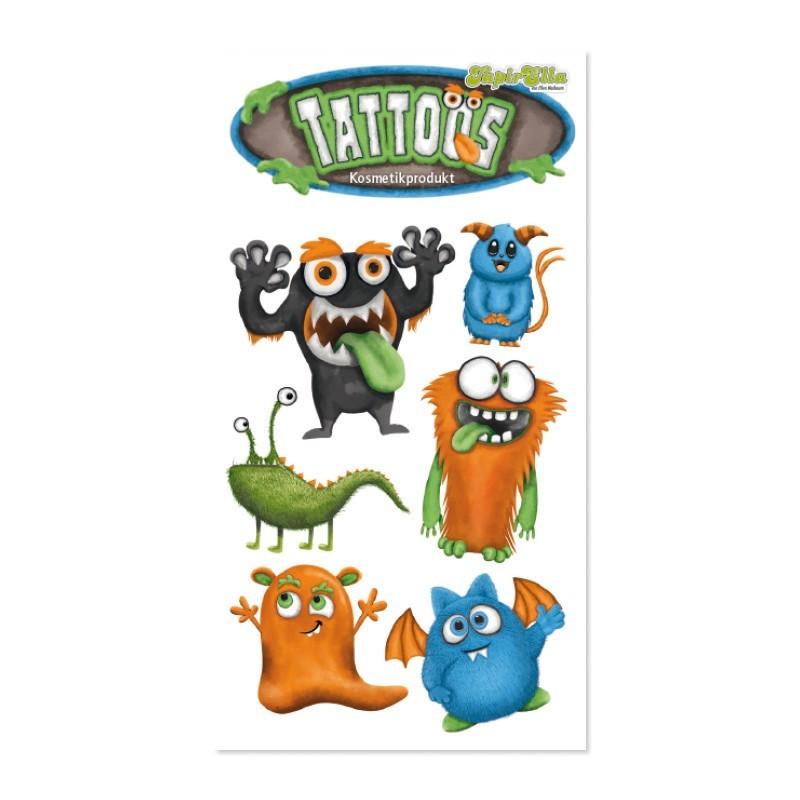 Tattoos Monster TapirElla von Lutz Mauder