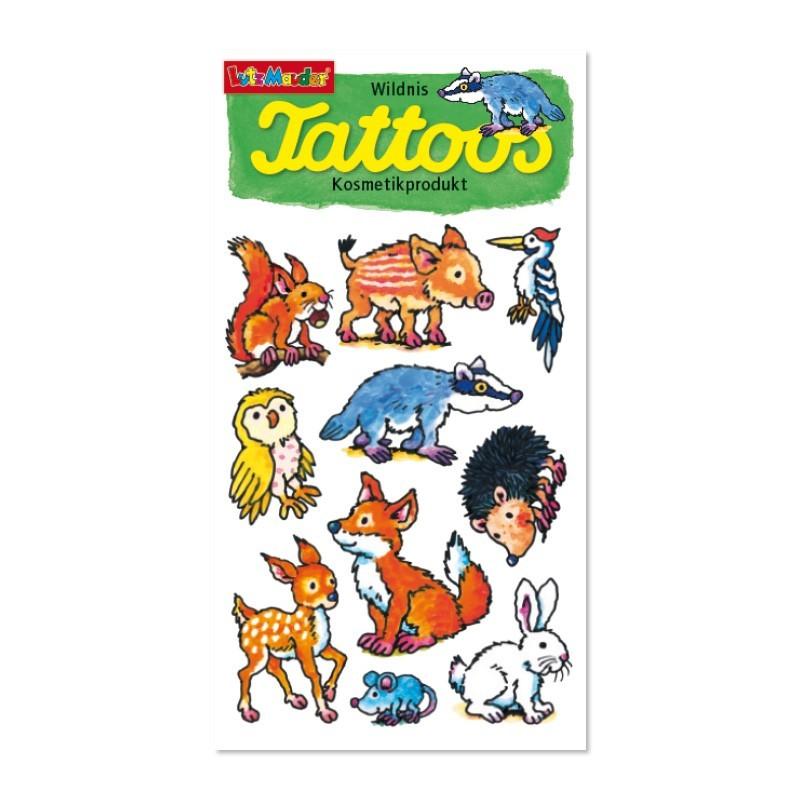 Tattoos Waldtiere von Lutz Mauder