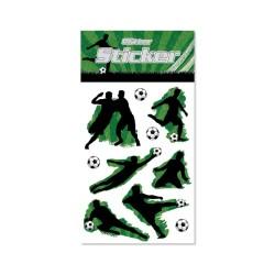 Glitter Sticker Fussball von Lutz Mauder